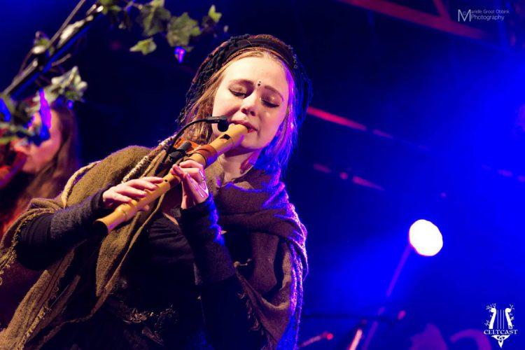 Nina Green with Waldkauz