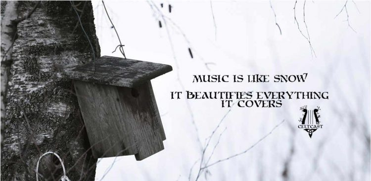 Music is like snow, it beautifies everything it covers
