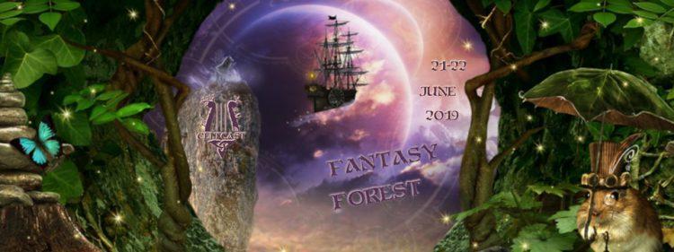 Fantasy Forest Banner